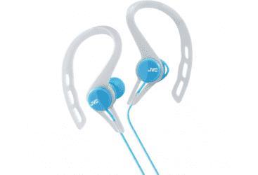 JVC Inner ear headphones for running- blue…