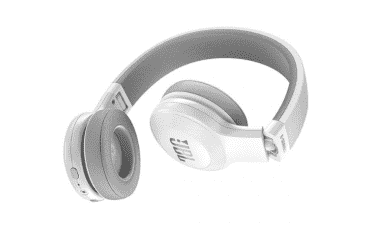 JBL Bluetooth On-Ear Headphones (E45BTWHT)