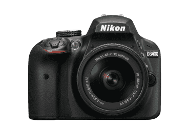 Nikon D3400 DSLR Camera Kit With AF-P 18-55 VR…