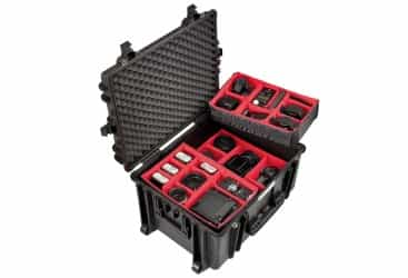 EXPLORER WATERPROOF CASE WITH PADDED DIVIDERS (EXP-5833.BPH)
