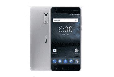 Nokia 6 32GB Phone - Silver (NOKIA6-SL)