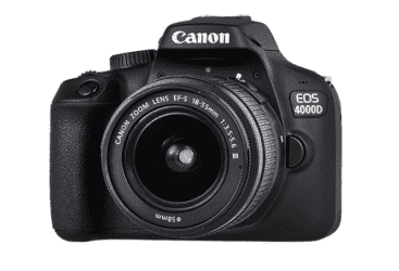 Canon EOS 4000D 18MP Wi-fi With 18-55 Lens DC…