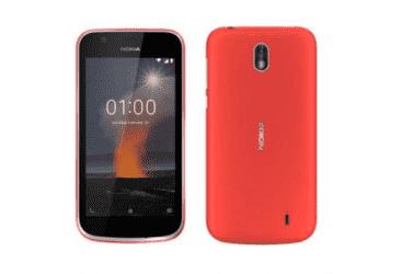 NOKIA 1 8GB 4G DS - RED (NOKIA1-RED)