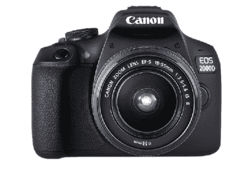 CANON EOS 2000D kit with18-55 IS 24MP (EOS2000D)…