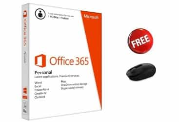 MICROSOFT, OFFICE 365 1YEAR SUPSCRIPTION (QQ2-00040)…