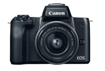 Compare Canon EOS  M50  EF M 15 45mm IS  STM  Kit  Black  EOSM50  at KSA Price