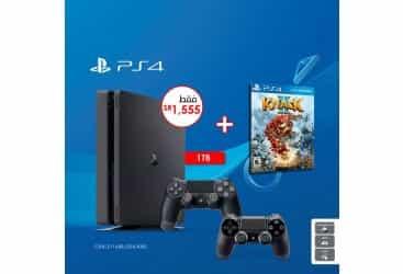 Sony PS4 Slim 1TB + DS4 + KNACK 2…