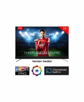 "TCL, 75"", 4K UHD, Android, LED TV, 75C2US-PRO"