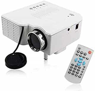 Compare Uc28 Pro  Hdmi Portable Mini Led  Projector Home Cinema Theater Av  Vga  Usb  Sd  1080 P   White at KSA Price