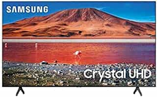 Compare Samsung 55 inch Class Crystal UHD  TU 7000 Series    4K  UHD  HDR  Smart TV  with Alexa Built in  UN55TU7000UXUM, 2020 Model  at KSA Price