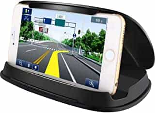 Compare Mobile Phone Holder for  Car  Mount, Durable Dash Windshield Car  Mount Holder Cradle Silicone Pad  Mats for  iPhone XS  Ma x XR  X  8  7  Samsung Galaxy Note 10  S10, Other GPS  and  Smartphones Cell at KSA Price