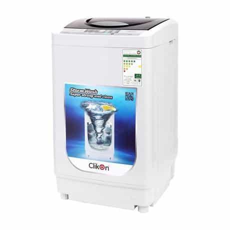 Clikon Automatic Washing Machine, Top Load, 5…