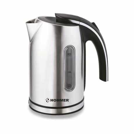 Hommer Electric Kettle, 2200 Watts, Silver, HSA222-04