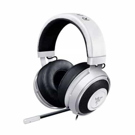 Razer Kraken Pro V2 Gaming Headset, 3.5mm, White,…