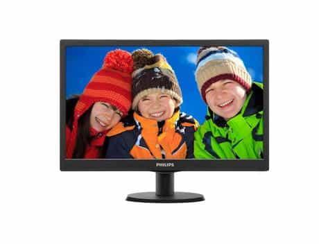 Philips LCD Monitor, 19.5 Inch, 203V5LSB2, Black