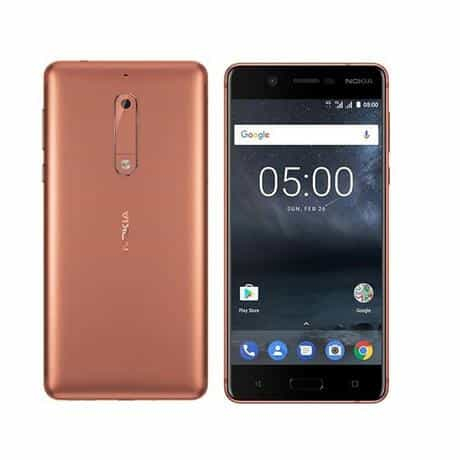 Compare Nokia 5  Dual SIM, 16GB, 2GB  RAM, 4G  LTE, Copper at KSA Price