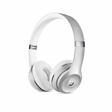 Beats Solo 3 Wireless Headphone, Silver, MNEQ2