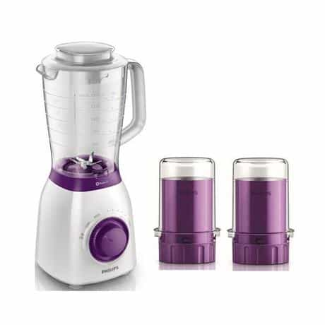 Compare Philips Blender with 2  Metal Mills, 600W, HR2169 01, White at KSA Price