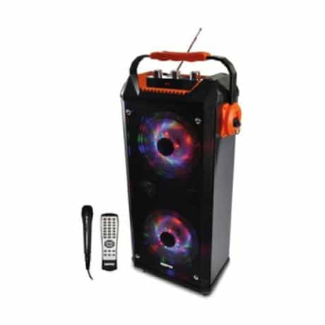 Geepas Portable Speaker, Black, GMS8561