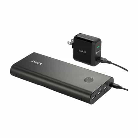 Anker PowerCore+ Portable Power Bank Charger With…