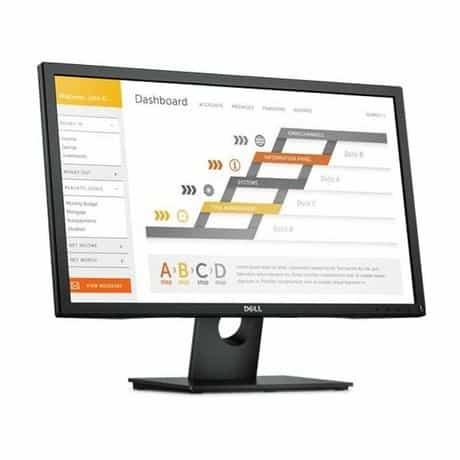 Compare Dell LED  Monitor, 24  Inch, E2417H, Black at KSA Price