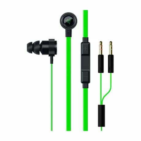 Razer Hammerhead Pro V2 Headset, 3.5mm, Green,…
