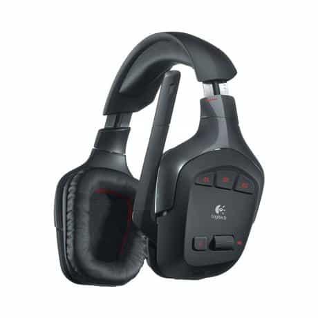 Compare Logitech G930 Wireless Gaming Headset, Black, 981 000550 at KSA Price