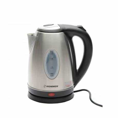 Hommer Electric Kettle, 2200 Watts, Silver, HSA222-03