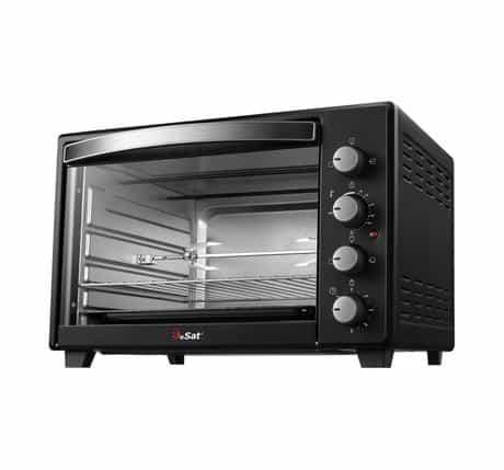 Besat Electric Oven, 2200 Watts, 60 Liter, Black,…