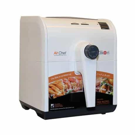 Clikon Air Chef Air Fryer, 1500 Watts, 2-Liter,…