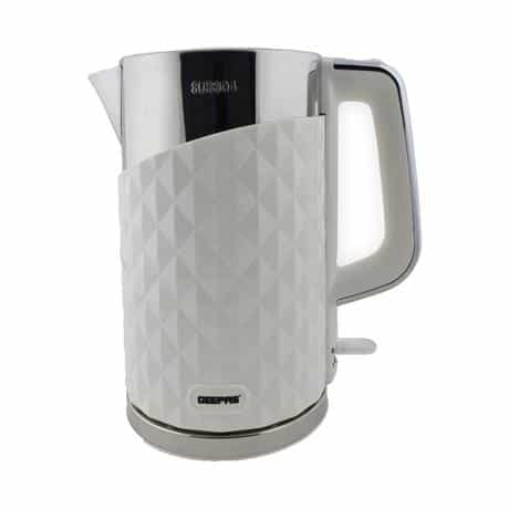 Geepas Double Layer Electric Kettle, 2200 Watts, White,…
