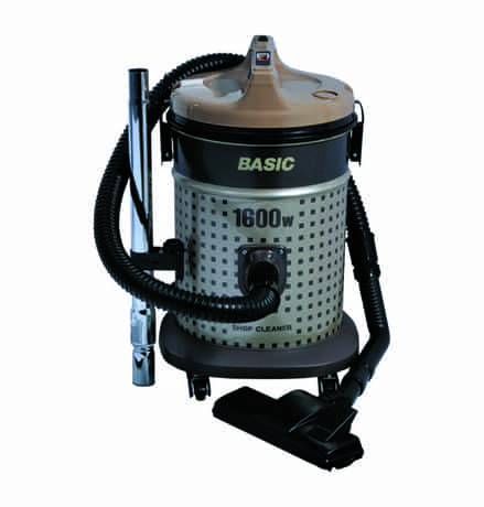 Compare Basic Canister Vacuum Cleaner, 1600 Watts, 15  liters, Black & Silver, BSC 1600 at KSA Price