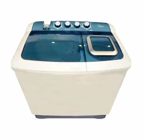 Midea Twin Tub Washing Machine, Top Load, 8…