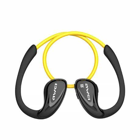 Compare Awei Sport Bluetooth Earphone, Yellow, A880BL at KSA Price