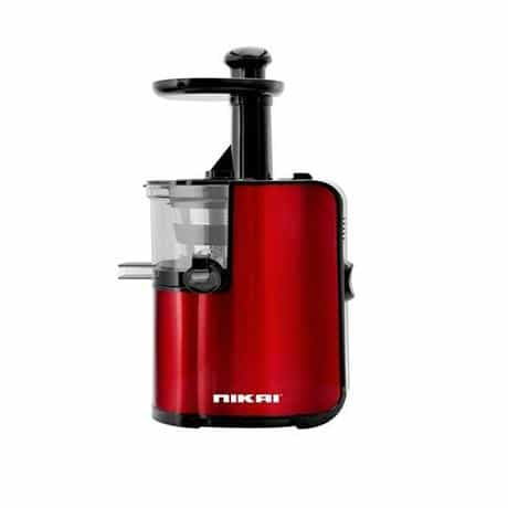 Nikai Juicer with 80 RPM, 200 Watts, Red, NJ7644SJ