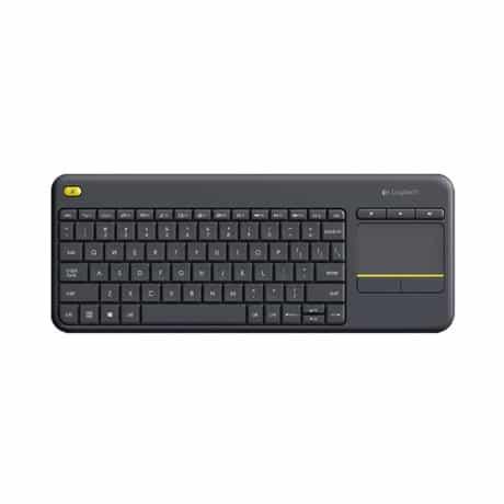 Logitech K400 Plus Wireless Touch Keyboard for…