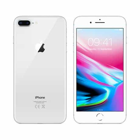 Apple iPhone 8 Plus, 64GB, 4G LTE, Silver
