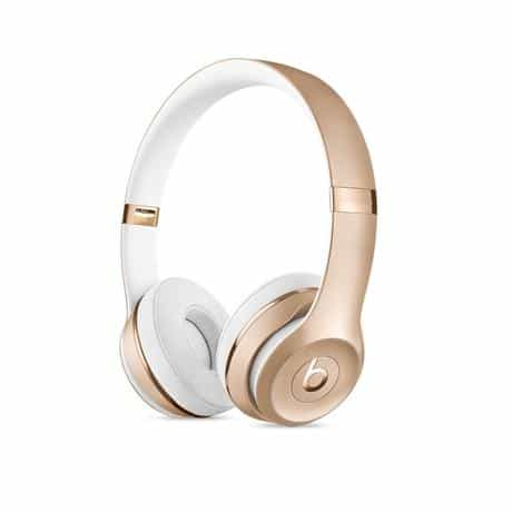 Beats Solo 3 Wireless Headphone, Gold, MNER2