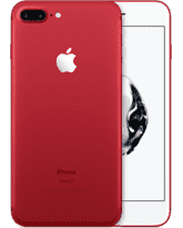 APPLE IPHONE 7 PLUS, 256gb,  red