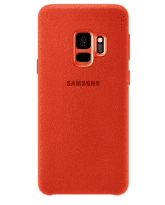 SAMSUNG S9 ALCANTARA COVER,  red