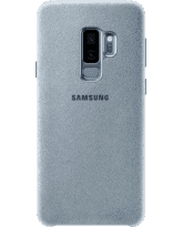 SAMSUNG S9 PLUS ALCANTARA COVER,  mint