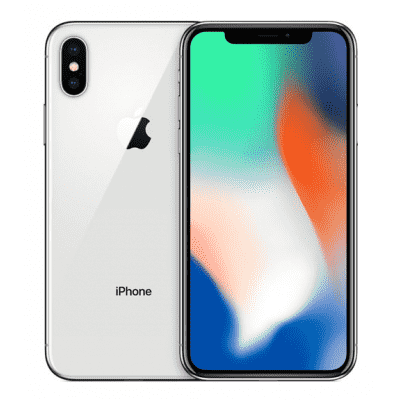 Apple iPhone X 256 GB, 4G LTE, Silver