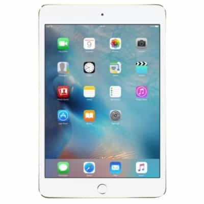 Apple iPad Mini 4 4G LTE, 128 GB, Gold