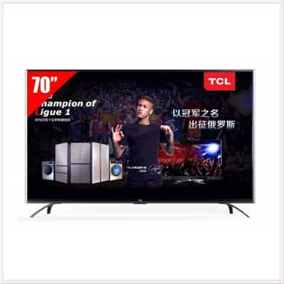 TCL, LED 4K Android Smart TV, 70P1-US
