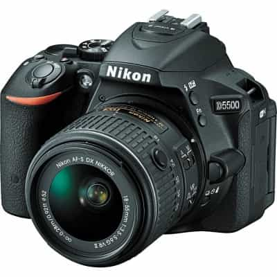 Nikon D5500 DSLR Camera with 18-55mm Lens + Nikon…