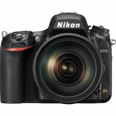 Nikon D750 DSLR body only (VBA420AM) + Nikon Vest…