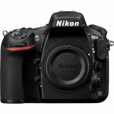 Nikon D810 Body Only, 36.3 MP (VBA410AM) + Nikon…
