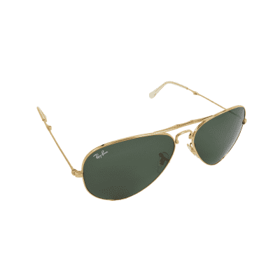 Ray Ban Gold Sunglass For Unisex (SG1695)
