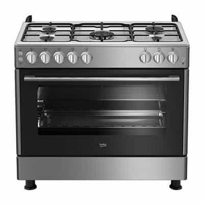 Compare Beko Gas Cooker 5 Gas Burner 90×60, inox at KSA Price