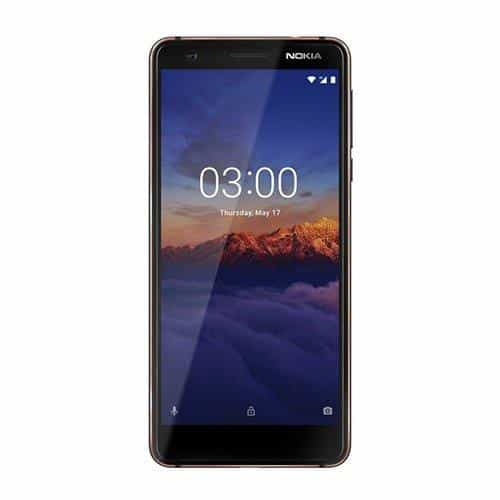 Compare Nokia 3.1  TA 1049, 16GB, Blue at KSA Price